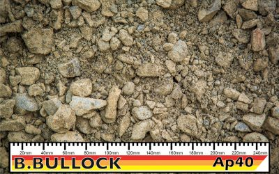 40mm Crushed River Metal