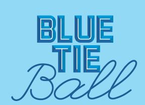 Blue Tie Ball